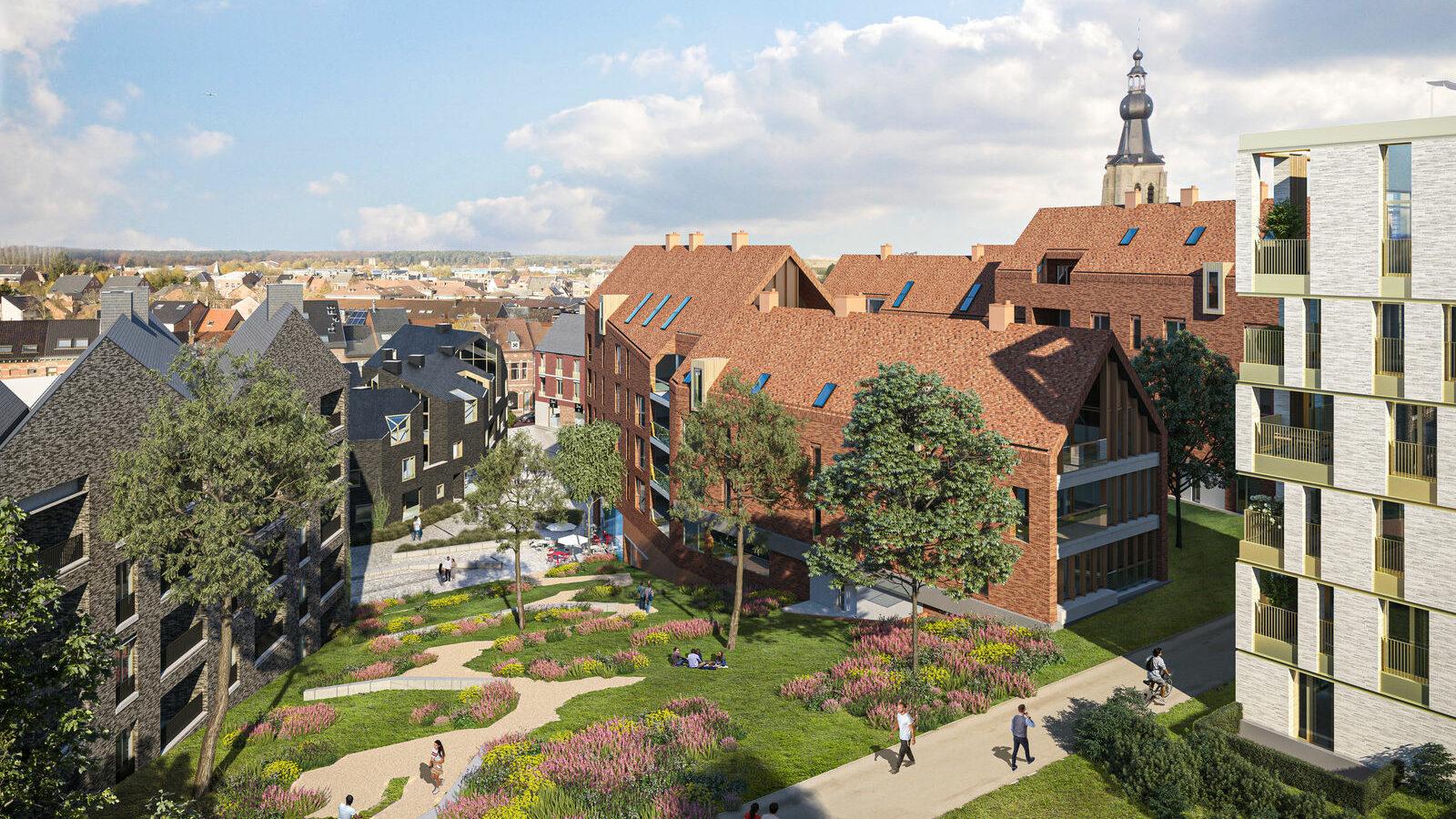 Woonproject De Torens, duiding van de architect.