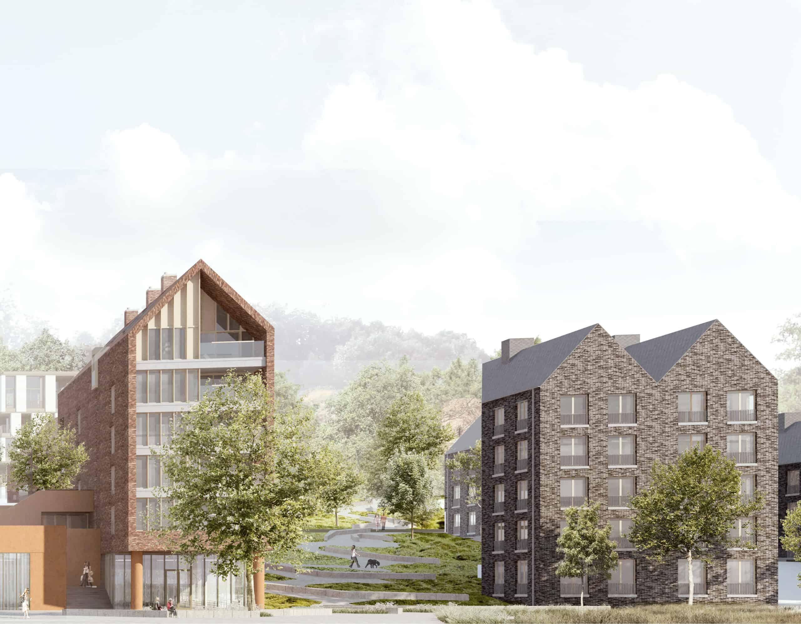 Vergunning nieuwbouwproject De Torens